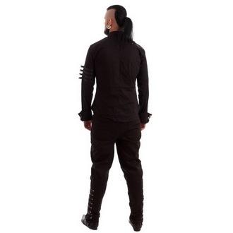 chemise pour hommes NECESSARY EVIL - Mephisto - Noire, NECESSARY EVIL