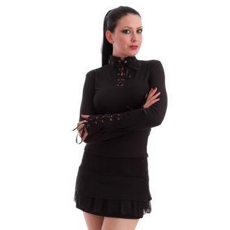 tee-shirt gothic et punk pour femmes - Black - MILISHA, MILISHA