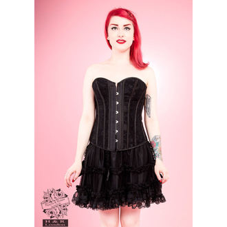 corset pour femmes HEARTS AND ROSES - Noire Pourpre, HEARTS AND ROSES