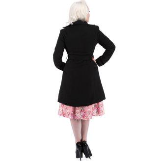 manteau pour femmes printemps-automne HEARTS AND ROSES - Noire Noire Flocage, HEARTS AND ROSES