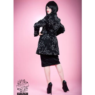 manteau pour femmes printemps-automne HEARTS AND ROSES - Floral Broderie Duster, HEARTS AND ROSES