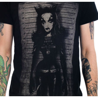 tee-shirt gothic et punk pour hommes - Catty - TOO FAST