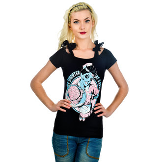 tee-shirt gothic et punk pour femmes - Annabel Bow - TOO FAST, TOO FAST