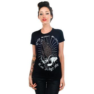 tee-shirt gothic et punk pour femmes - Silver Bullets - TOO FAST