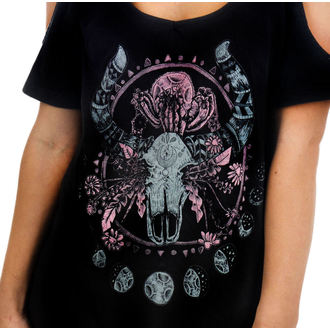 tee-shirt gothic et punk pour femmes - Cosmic Cow - TOO FAST, TOO FAST