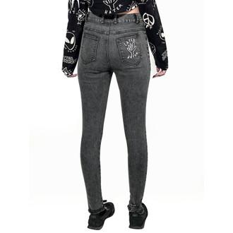 pantalon pour femmes DISTURBIA - Hater - Noire, DISTURBIA