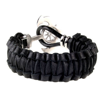 bracelet ETNOX - Anchor With Leather, ETNOX