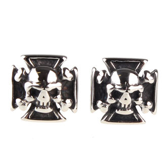 boucles d`oreilles ETNOX - Pirate Skull, ETNOX