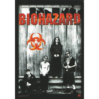 drapeau Biohazard - Band, HEART ROCK, Biohazard