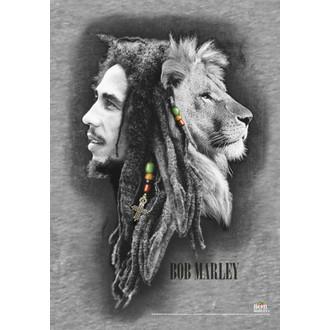 drapeau Bob Marley - Profils, HEART ROCK, Bob Marley