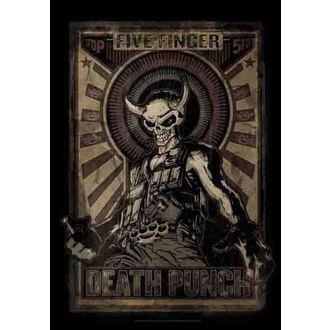 drapeau Five Finger Death Punch - Mercenary, HEART ROCK, Five Finger Death Punch