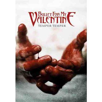 drapeau Bullet For My Valentine - Temper Temper, HEART ROCK, Bullet For my Valentine