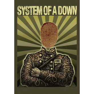 drapeau System Of A Down - Soldier, HEART ROCK, System of a Down