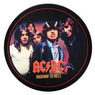 essuie-pieds AC / DC - Autoroute-Foto- ROCKBITES, Rockbites, AC-DC