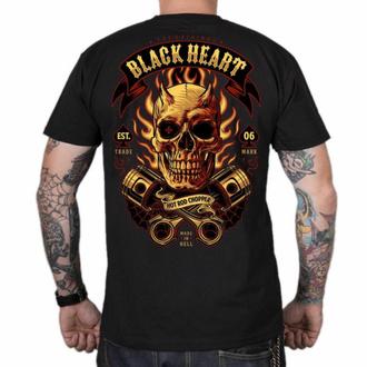 T-shirt pour homme BLACK HEART - HELL BOY - NOIR, BLACK HEART