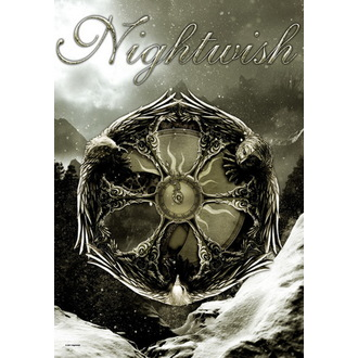 drapeau Nightwish - Emblem, HEART ROCK, Nightwish