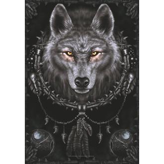drapeau Spiral Collection - Wolf Dreams, SPIRAL