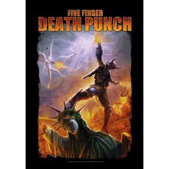 drapeau Five Finger Death Punch - Battle Of The God, HEART ROCK, Five Finger Death Punch