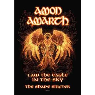 drapeau Amon Amarth - Burning Aigle, HEART ROCK, Amon Amarth