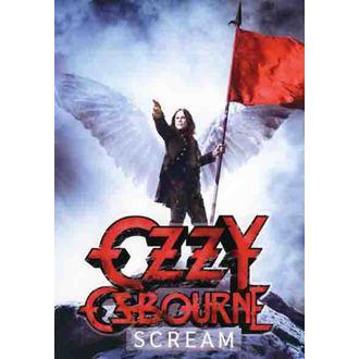 drapeau Ozzy Osbourne - Scream, HEART ROCK, Ozzy Osbourne