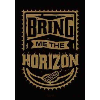 drapeau Bring Me The Horizon - Dynamite Shield, HEART ROCK, Bring Me The Horizon