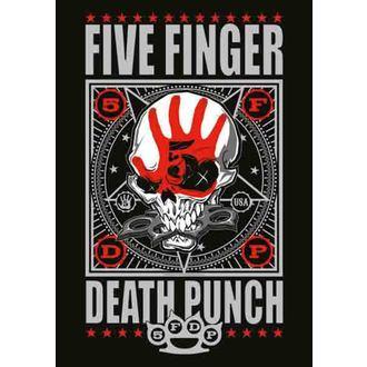 drapeau Five Finger Death Punch - Punchagram, HEART ROCK, Five Finger Death Punch