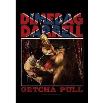 drapeau Dimebag Darrel - Getcha Pull, HEART ROCK, Dimebag Darrell