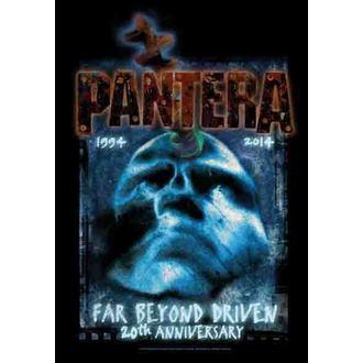 drapeau Pantera - Loin Beyond 20th Anniversary, HEART ROCK, Pantera