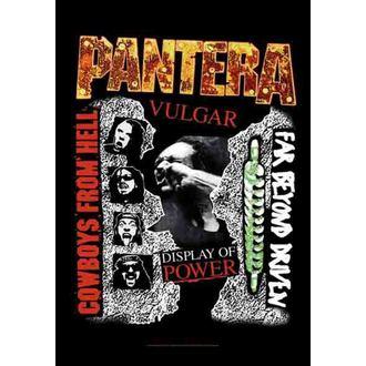 drapeau Pantera - 3 Albums, HEART ROCK, Pantera