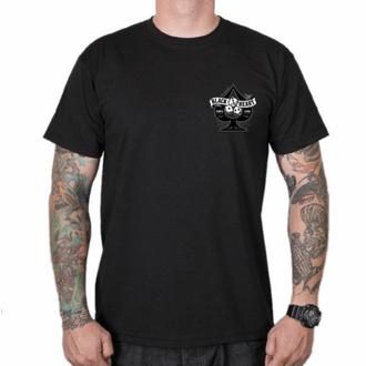 T-shirt pour homme BLACK HEART - WIKI PIN UP - NOIR, BLACK HEART