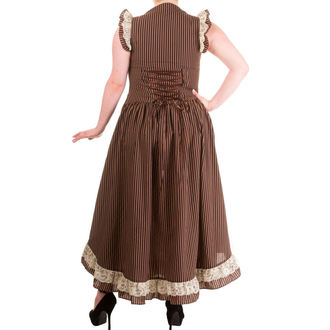robe pour femmes BANNED - Brown Stripe, BANNED