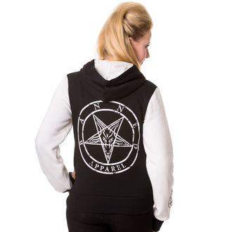 sweat-shirt avec capuche pour femmes - Black - BANNED, BANNED