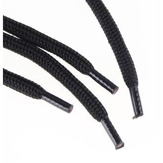 lacets 15 trous - Noire, STEEL