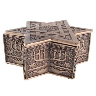 boîte (décoration) Étoile of David & Menorah