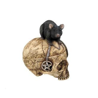 décoration (boîte) Salem Skull