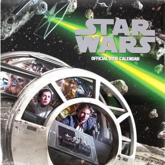 calendrier pour année 2016 - Étoile Wars
