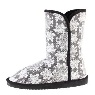bottes fourées pour femmes - Midnight Widow Fugg - IRON FIST, IRON FIST