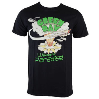tee-shirt métal pour hommes Green Day - Welcome To Paradise - ROCK OFF, ROCK OFF, Green Day