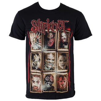 tee-shirt métal pour hommes Slipknot - New Masks - ROCK OFF, ROCK OFF, Slipknot