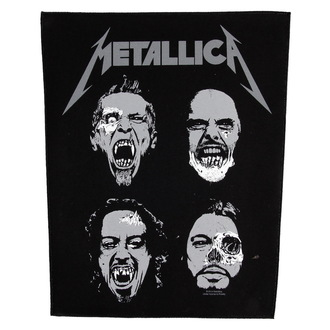 applique grand Metallica - Undead - RAZAMATAZ, RAZAMATAZ, Metallica
