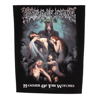 applique grand Cradle of Filth - Hammer Of The Sorcières - RAZAMATAZ, RAZAMATAZ, Cradle of Filth