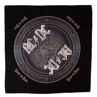 écharpe AC / DC - Rock Or Bust - RAZAMATAZ, RAZAMATAZ, AC-DC