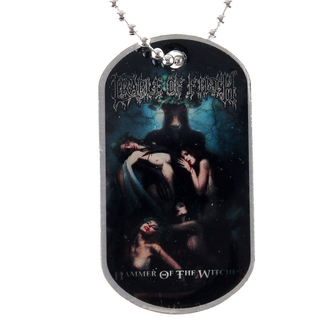 collier (de chien plaque) Cradle of Filth - Hammer Of The Sorcières - RAZAMATAZ, RAZAMATAZ, Cradle of Filth