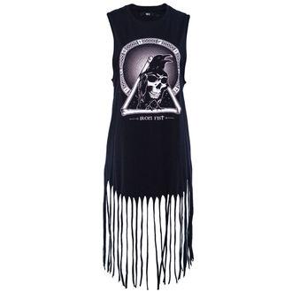 robe pour femmes IRON FIST - Trône Fringe - Noire