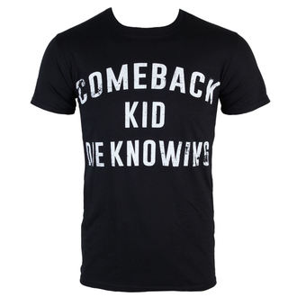 tee-shirt métal pour hommes Comeback Kid - Die Knowing - KINGS ROAD, KINGS ROAD, Comeback Kid