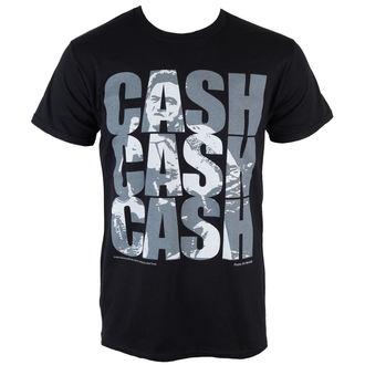 tee-shirt métal pour hommes Johnny Cash - Cash Cash Cash - PLASTIC HEAD, PLASTIC HEAD, Johnny Cash