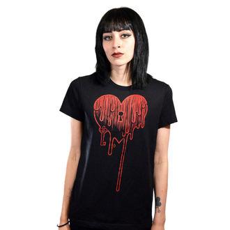 t-shirt hardcore pour femmes - Bleeding Heart - Akumu Ink, Akumu Ink