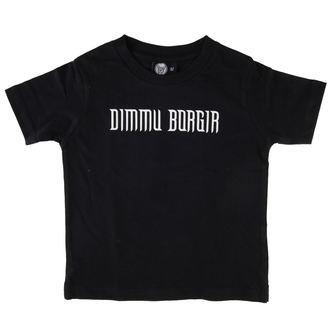 tee-shirt métal enfants Dimmu Borgir - Logo - Metal-Kids - MK229