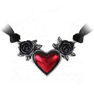 collier ALCHEMY GOTHIC - Bloodheart Rose - P746