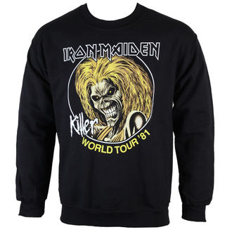 sweat-shirt sans capuche pour hommes Iron Maiden - Killers 81 - ROCK OFF - IMSWT04MB